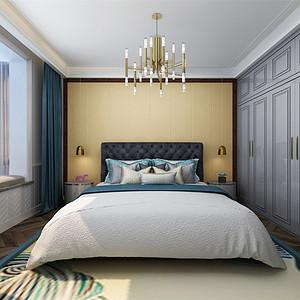 后现代风格-卧室