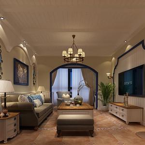 地中海-客厅