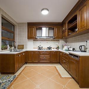 几何府美式风格厨房