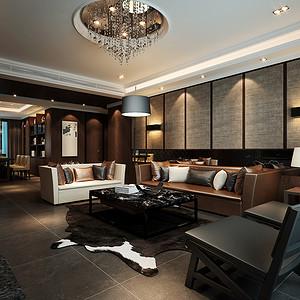 漫香郡 三室两厅 142平米 现代风格装修效果图