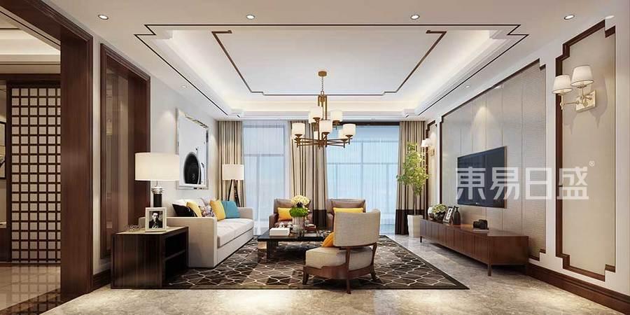 客厅是主人品味的象征,体现了主人品格