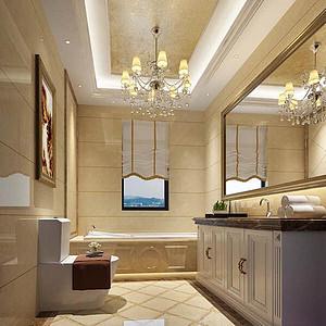 顶秀清溪 美式风格 卫生间装饰