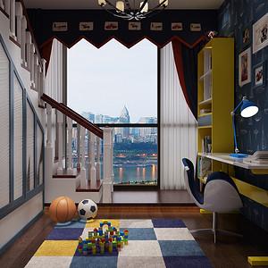 儿童房装修效果图 欧式古典风格装饰