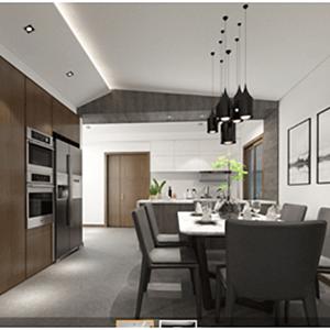 南滨特区100 m²现代简约装修效果