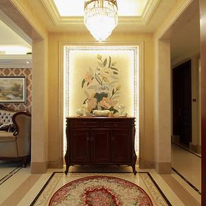 得月花园165平新古典设计装修效果图