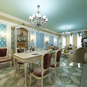 法式宫廷风格餐厅