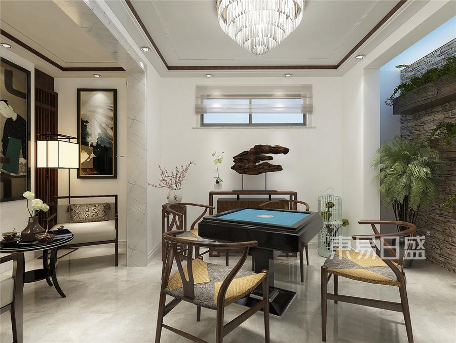 棋牌室装修效果图效果图   分享  收藏  空间  风格 元素 我家装成