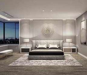 黄山湖一号 美式风格 卧室