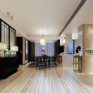 中海上林院200平方新中式风格