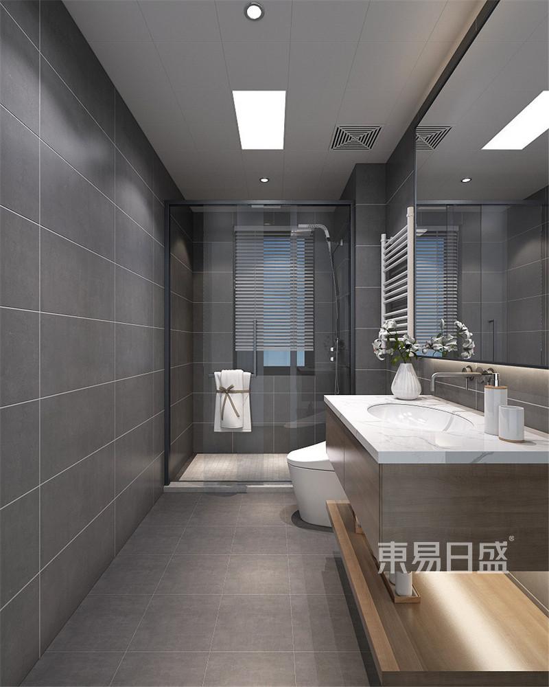 新中式 - 新中式风格装修效果图-卫生间