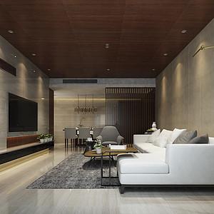 东润泰和新中式风格166㎡四居室