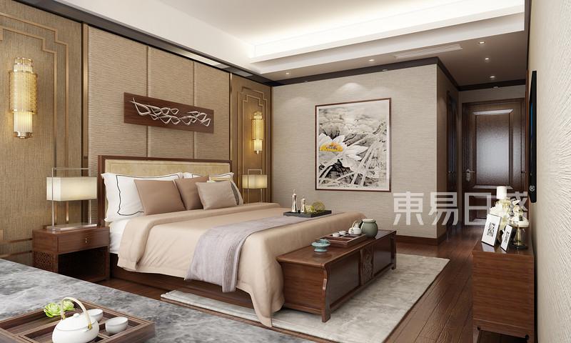 卧室新中式装修效果图效果图 装修效果图大全2018图片 1007466 东易