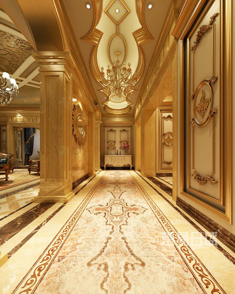 欧式古典 - 攸县自建别墅欧式风格入户门厅