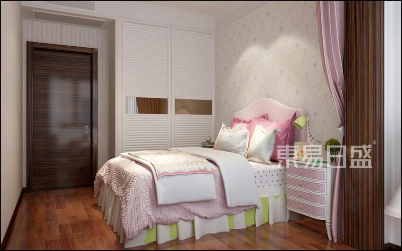 新中式 - 新中式风格-女孩房-装修效果图