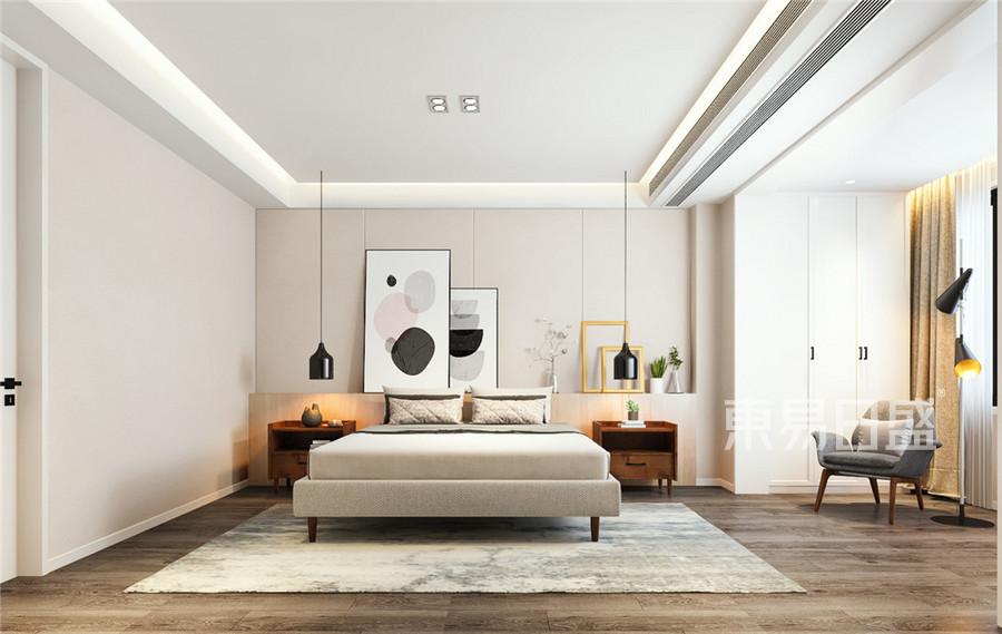 北欧跃层卧室装修设计效果图
