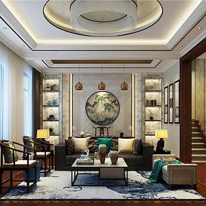 中海八里台-新中式风格-650平米