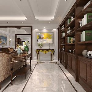 橡树湾新古典风格门厅装修效果图