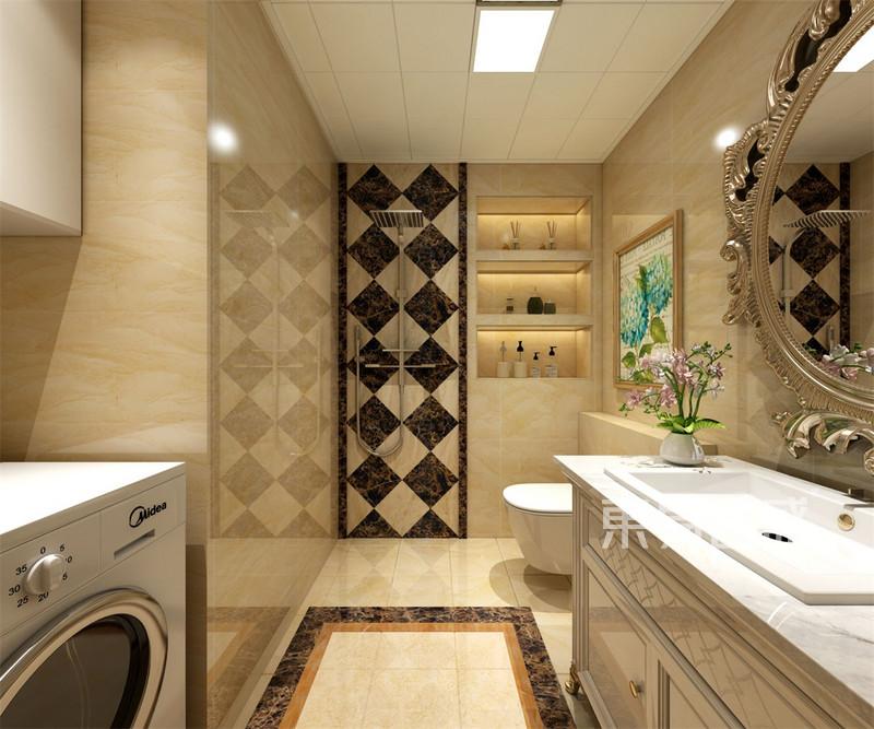 欧式古典-卫生间