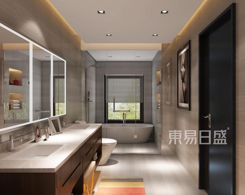 新中式 - 诸子阶 新中式 洗手间效果图