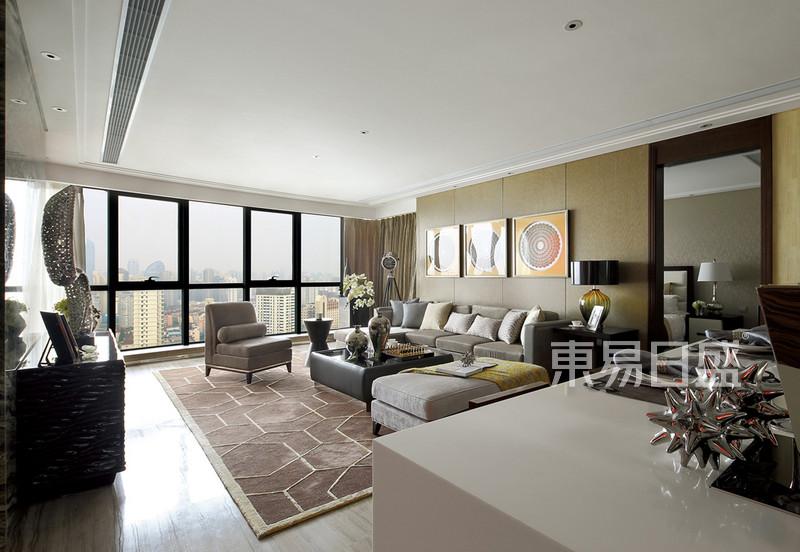 现代简约 - 现代简约风格客厅中西元素结合
