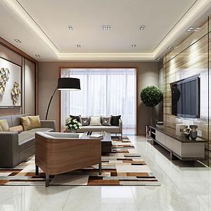 雅居乐御宾府 现代装修效果图 四室两厅 210平米