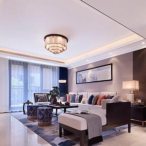 西山艺境 新中式 客厅装饰