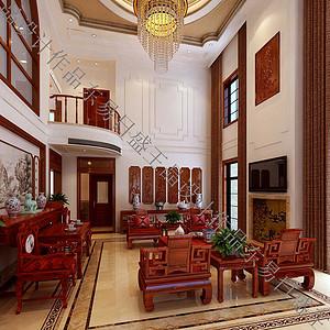 新悦庭-中式奢华-350平米