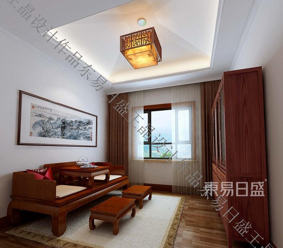 新悦庭中式奢华休闲室装修效果图