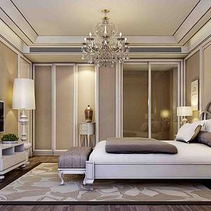 现代风格装修案例—卧室
