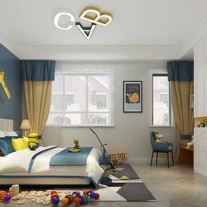北欧风格儿童房装修设计