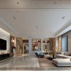 普罗旺世现代港式风格720㎡别墅