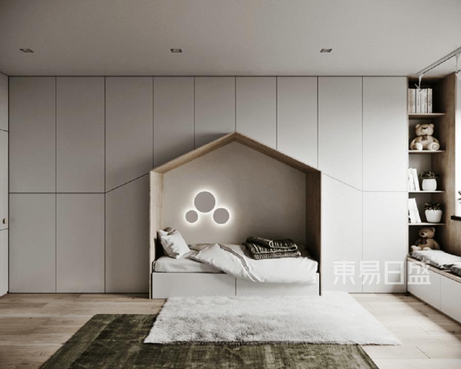 文一塘溪津门现代简约风格儿童房装修效果图