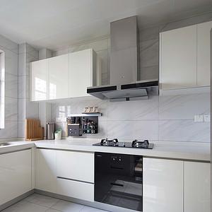 保利国际广场150平现代风三居厨房
