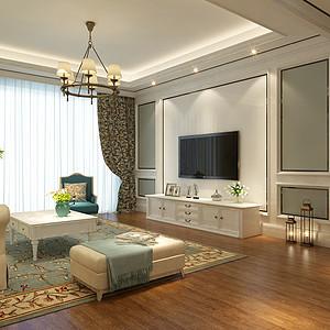 五月花城高雅风格179平四居室