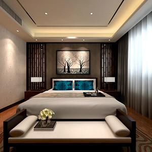 韦伯豪公寓-新中式-180平米