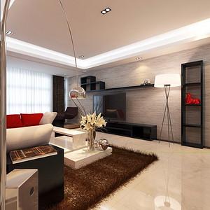 明珠家园-147平米-现代简约风格装修案例效果图
