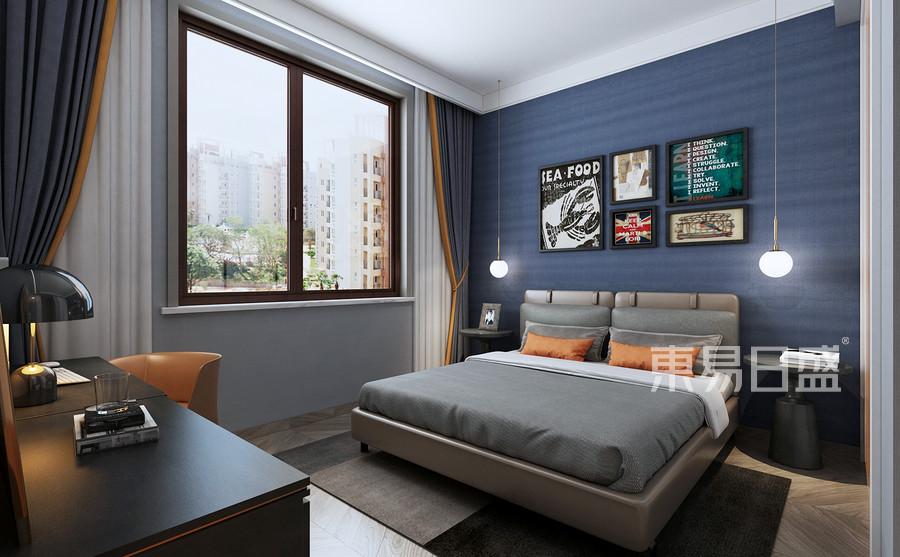 四居室-现代轻奢-效果图