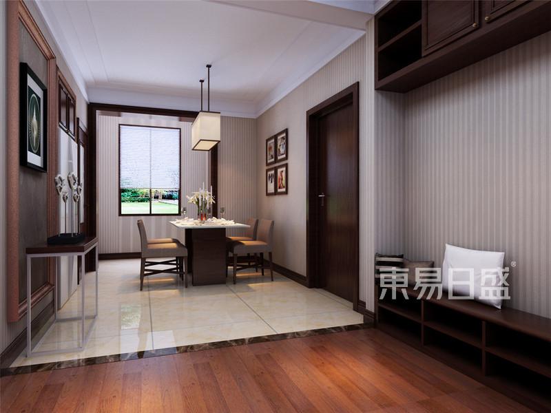 路劲太阳城现代简约风格厨房餐厅效果图