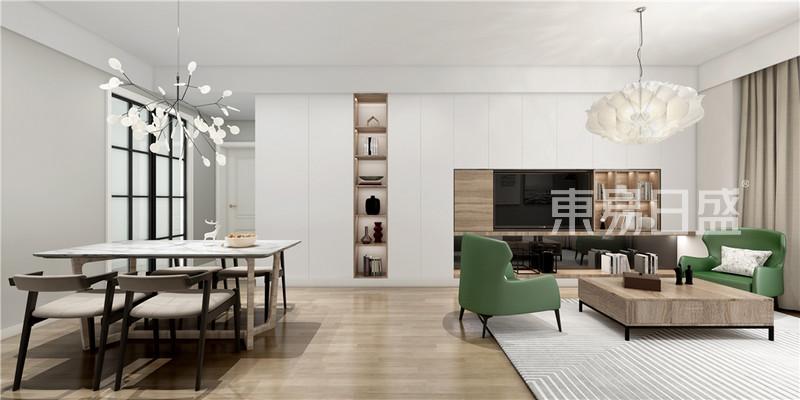 客厅北欧风格装修效果图_北欧效果图大全2018图片