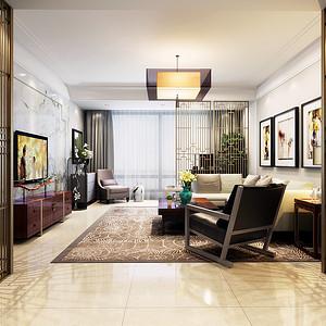 中直1号楼  新中式  140m²  家庭装修