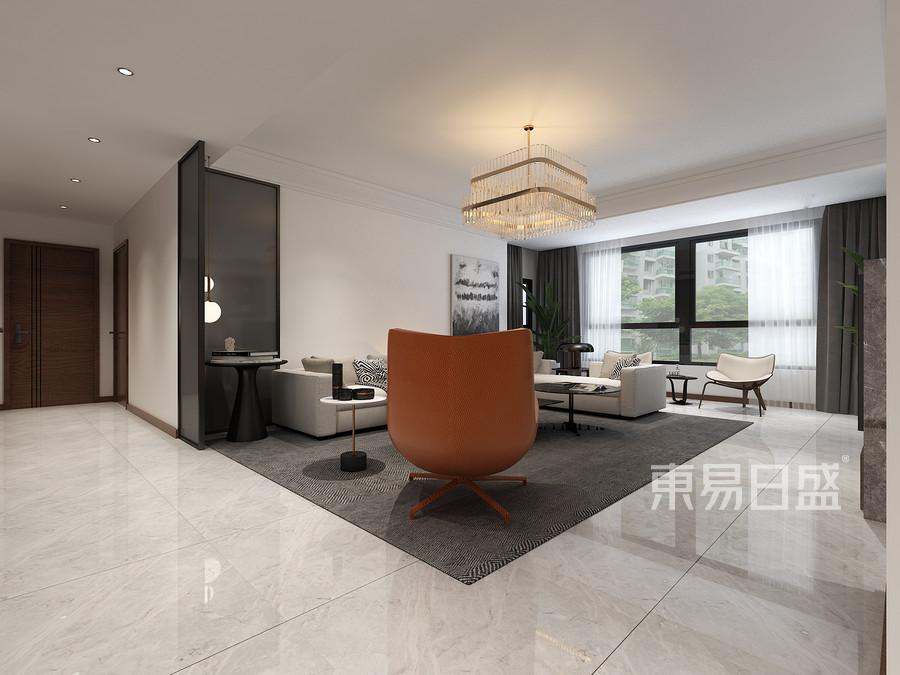 现代极简风格客厅装修效果图效果图   分享  收藏  空间  风格 元素