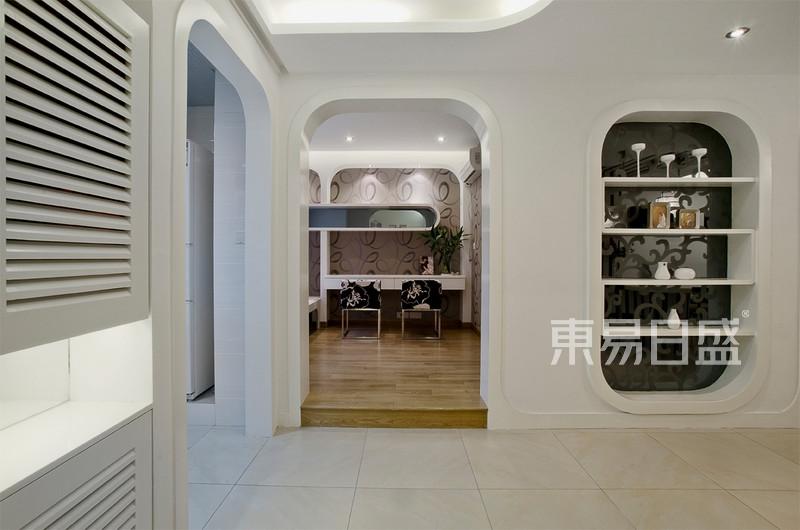现代简约 - 圆弧形设计元素让空间看上去柔和简洁