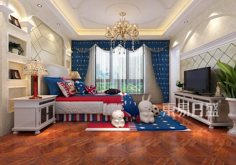 欧式古典 - 河州首府欧式古典风格儿童房装修案例效果图