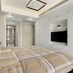 现代新简约风格卧室装修