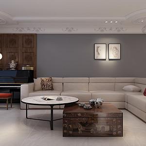 北欧-客厅沙发背景墙
