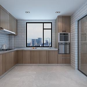 东润泰和现代极简风格厨房