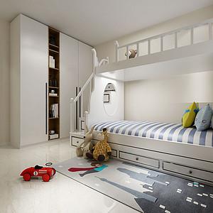 现代风格儿童房装修设计
