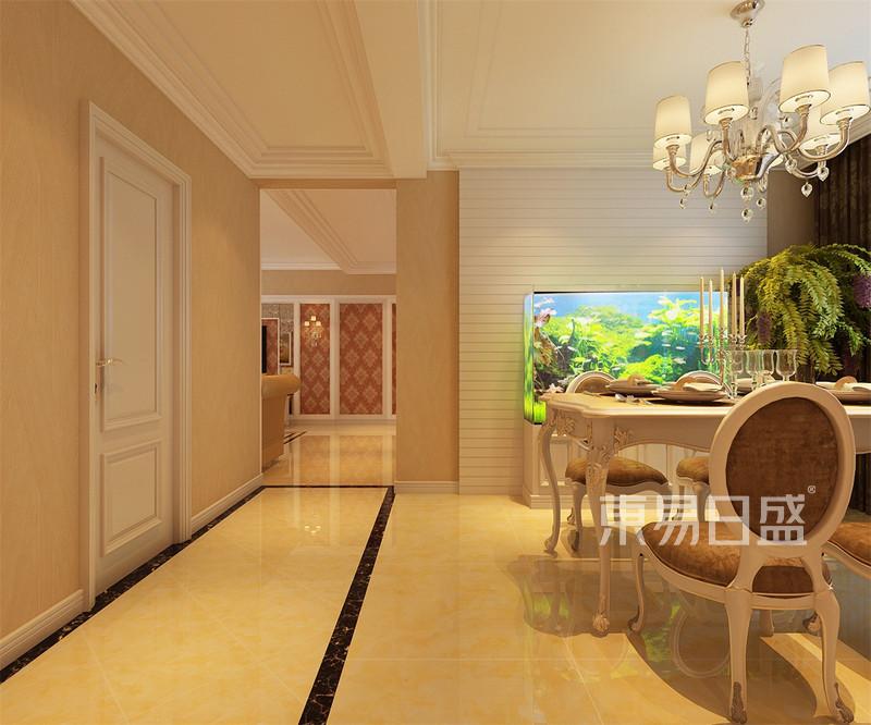 金河家园简欧风格走廊装修效果图