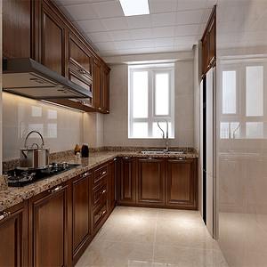 美式古典-厨房