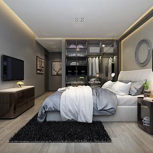 现代灰-卧室